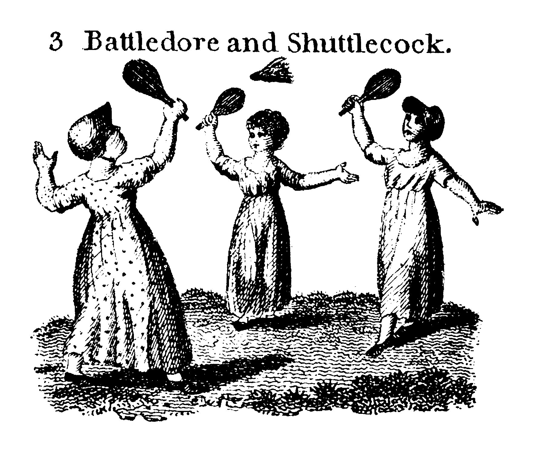 Battledore youthful sports