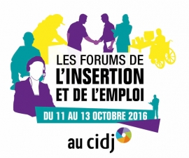 Cidj les forums de l insertion et de l emploi 2016 0