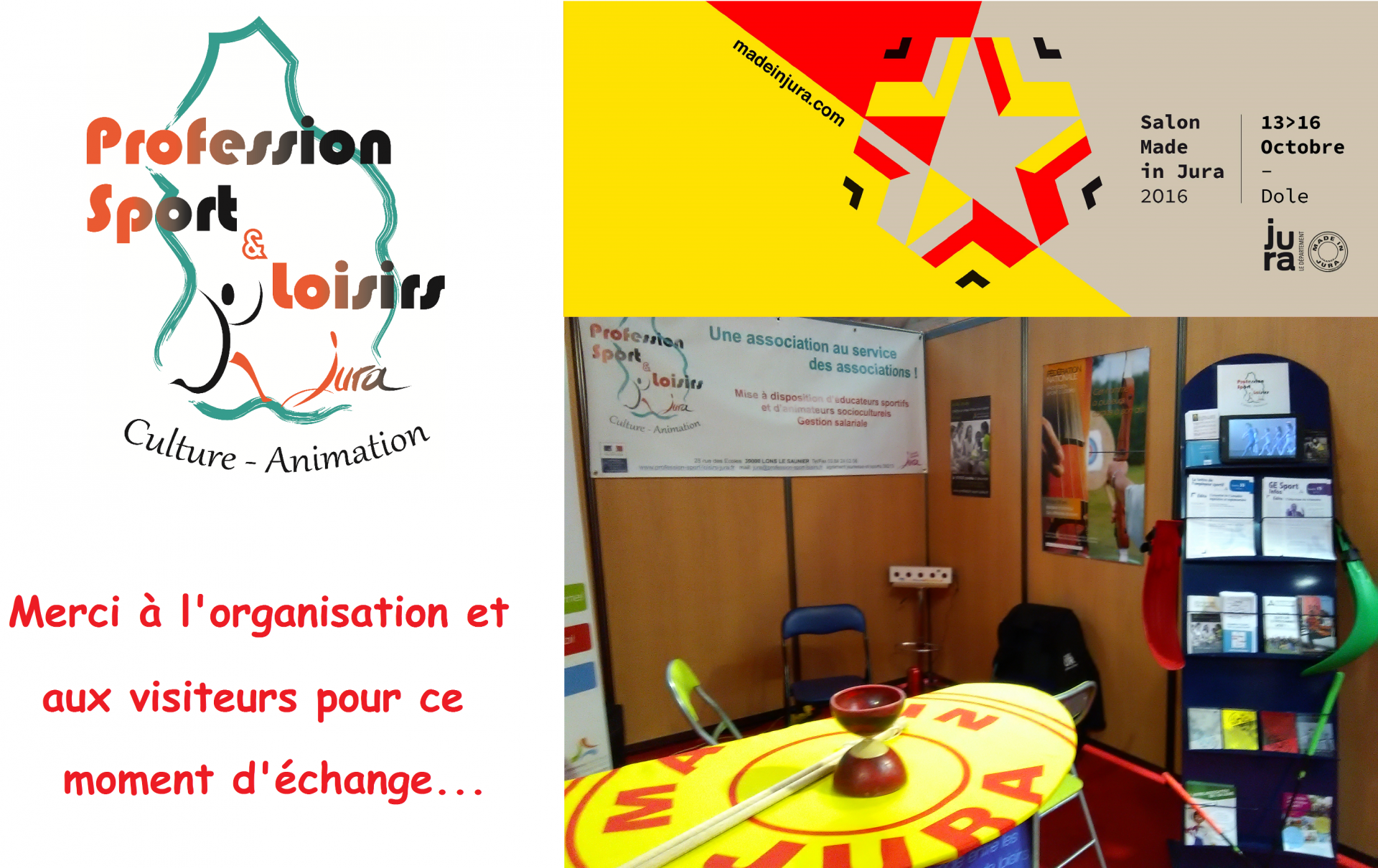 Stand made in jura 2016 merci